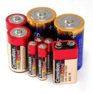 باتری غیرشارژی,آلکالاین