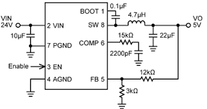 DC TO DC CONVERTER IC