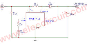 SWITCHING REGULATOR IC