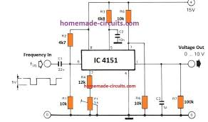 VOLTAGE TO FEREQUENCY IC